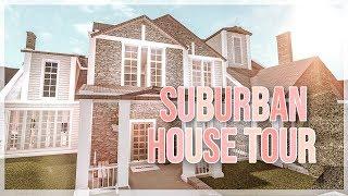 SUBURBAN HOUSE TOUR | Bloxburg