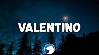 24kGoldn - Valentino (Clean - Lyrics)