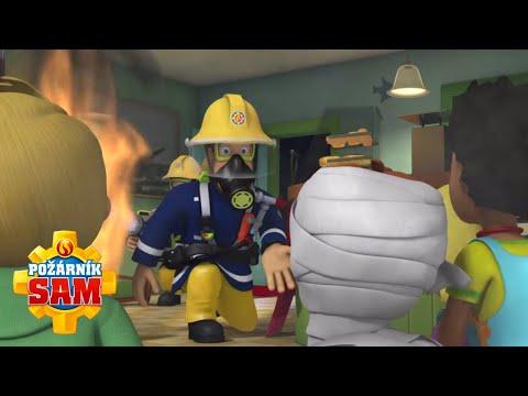 Požiarnik Sam  - Hasič zachráni Halloween