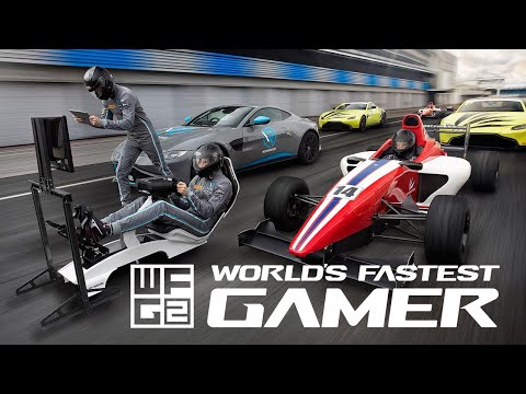 Today marks the launch of World's Fastest Gamer season two - bringing together ten of the fastest esports racers on the planet to battle it out to win a year racing for real at some of the world's most iconic circuits with leading race team, R-Motorsport, a strategic partner of Aston Martin