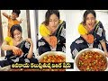 Vithikasheru Preparing Mango Pickle At Home    Vithikasheru House Inside View    IG Telugu