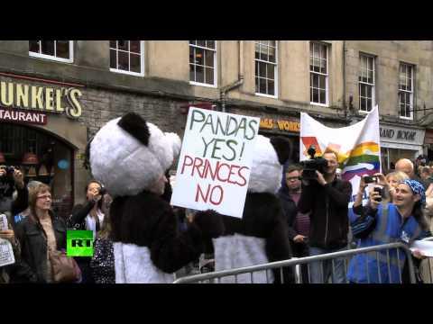 В Шотландии прошел марш «Голосуй за независимость»