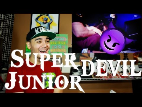 Super Junior - Devil MV Reaction