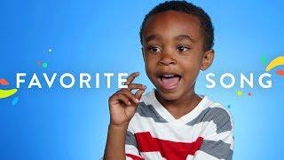 100 Kids Tell Us Their Favorite Song | 100 Kids | HiHo Kids
