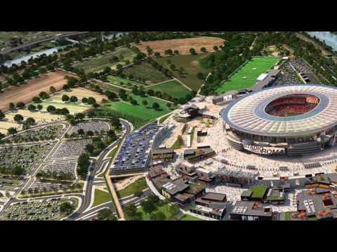 This is Stadio della Roma
