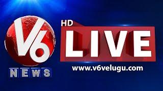 V6 News LIVE | Telugu Live TV Channel | V6 News