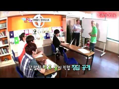 B1A4 Hello Baby Ep 4: Sandeul 'E T' & Baro 'ALADDIN!!'