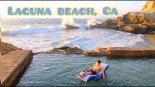 LAGUNA BEACH 1000 steps | Finding the Secret Caves and Pools