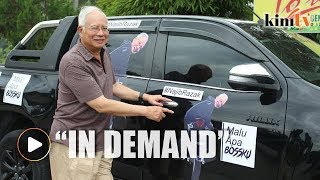Najib: Public appearances due to 'demand'