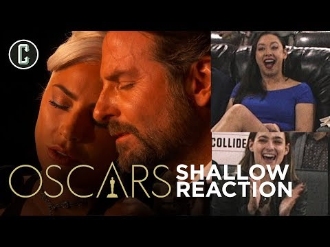Shallow Oscars Performance Reaction - Lady Gaga and Bradley Cooper Sing A Star Is Born Song