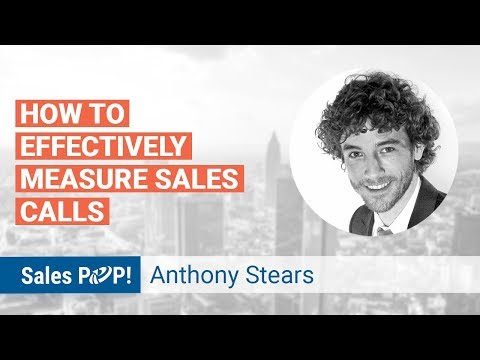 CRM and Measuring Sales Effectiveness in Calls with Anthony Stears (Sales tips)