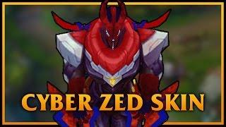 Cosmic Reaver Zed LoL Custom Skin ShowCase - Downlossless  Cosmic Reaver Z...