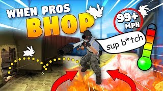 CS:GO - When PROS enter BHOP MODE! PHOON? ft. JW, Stewie2k, FalleN & More!