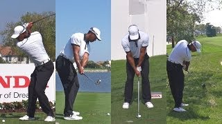 TIGER WOODS 2014 HONDA PGA NATIONAL GOLF COURSE - PRO AM SWING FOOTAGE 1080p HD