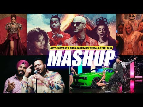 Buzz / Friends / Daru Badnaam / Swalla / Taki Taki | DJ Harshal Mashup | Sunix Thakor