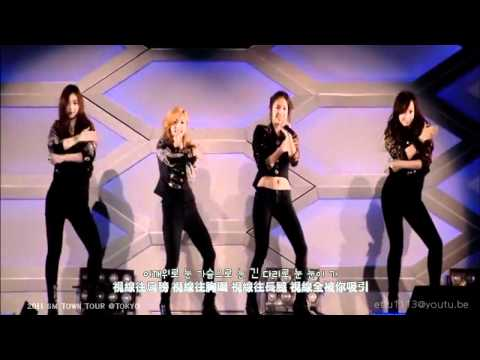[Live] 2011 SM TOWN WORLD TOUR | 에프엑스 f(x) | Mr. Boogie (繁中字幕)