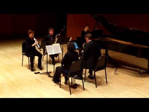 Gieseking Quintet for Winds and Piano