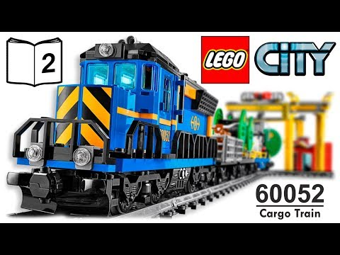 Trains For Children Lego City Cargo Train 60052 Review Instructions