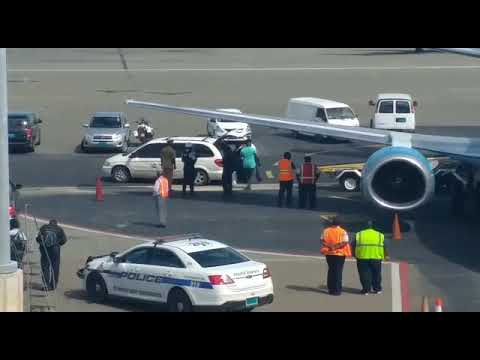 Body of Christopher Cline and six others arrived in the capital on Friday...  BP BREAKING| The body