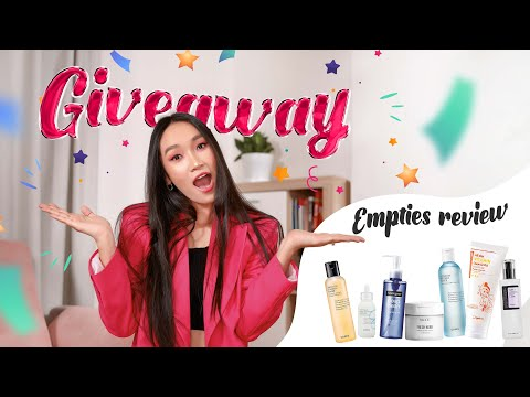GIVEAWAY x EMPTIES REVIEW | HASGOO QN