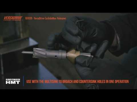 HMT VersaDrive TCT HoleCutter Set 14mm, 18mm, 22mm 101030-SET1