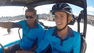 Harries Embarrasses Trainee Lifeguard | Bondi Rescue