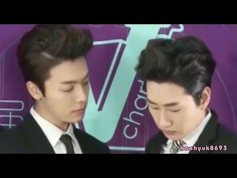 [Part 4] HaeHyuk/EunHae sweet moments - 140509 + 140501 YYT V-chart awards