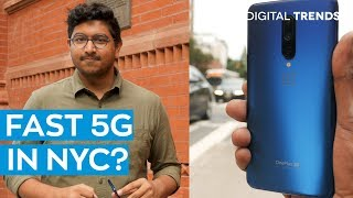 OnePlus 7 Pro 5G On Sprint's 5G NYC Network | How Fast Is It?