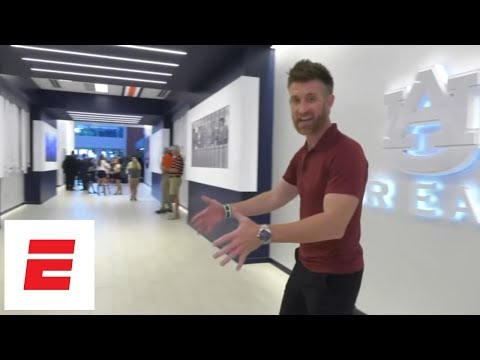 Marty Smith's exclusive tour of Auburn football facilities | ESPN