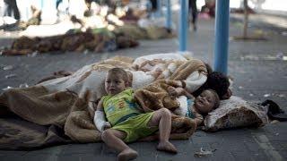 أكثر من ربع مليون نازح جراء العملية العسكرية على قطاع غزة - أخبار الآن