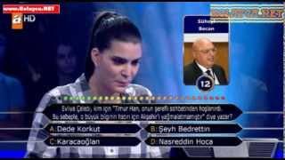 Kim Milyoner Olmak İster Deniz Özdoğan 23.10.2013 276.bölüm
