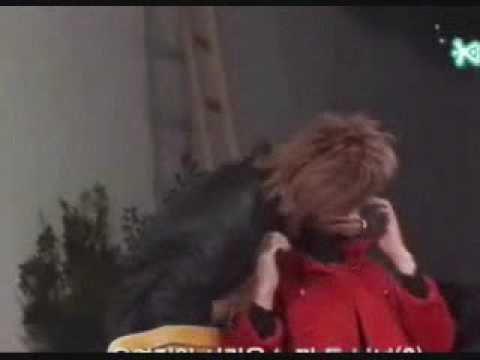 Leeteuk Kissing Heechul