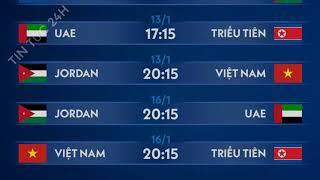 Lịch thi đấu của U23 Việt Nam hôm nay 16/1 tại VCK U23 châu Á: Liệu chúng ta có lách qua khe cửa hẹp