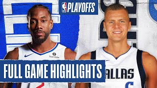 CLIPPERS at MAVERICKS | FULL GAME HIGHLIGHTS | August 21, 2020