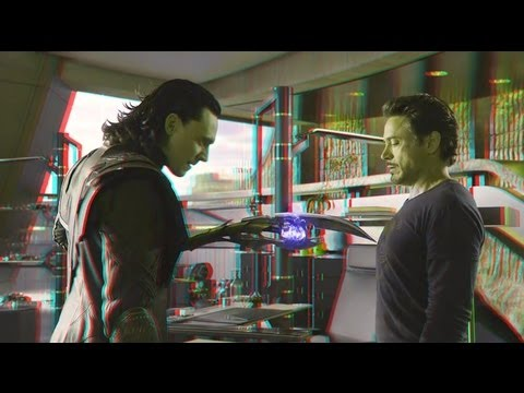 The Avengers (2012)(3D)(Side By Side) - Mark VII [Clip 4]