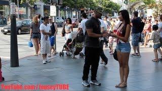 Posudio je mobitel u gradu od nepoznate djevojke, a onda mu je ispao iz ruke na beton… (VIDEO)