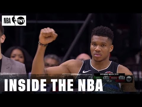 Bucks Come Back to Knock Off Rockets | Inside the NBA