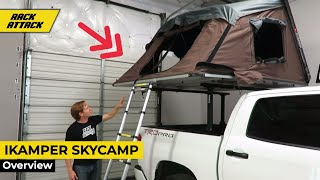 iKamper SkyCamp Expandable Hard Top Roof Top Tent Demonstration