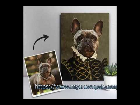 Custom Pet Portraits On Canvas