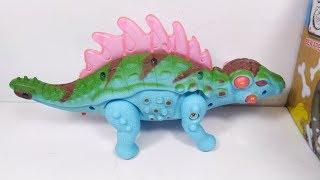 Đồ chơi Khủng Long xanh lưng gai - dinosaur toy for kids