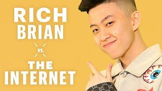 Rich Brian Responds To Internet Comments | Vs. The Internet | Men's Health
