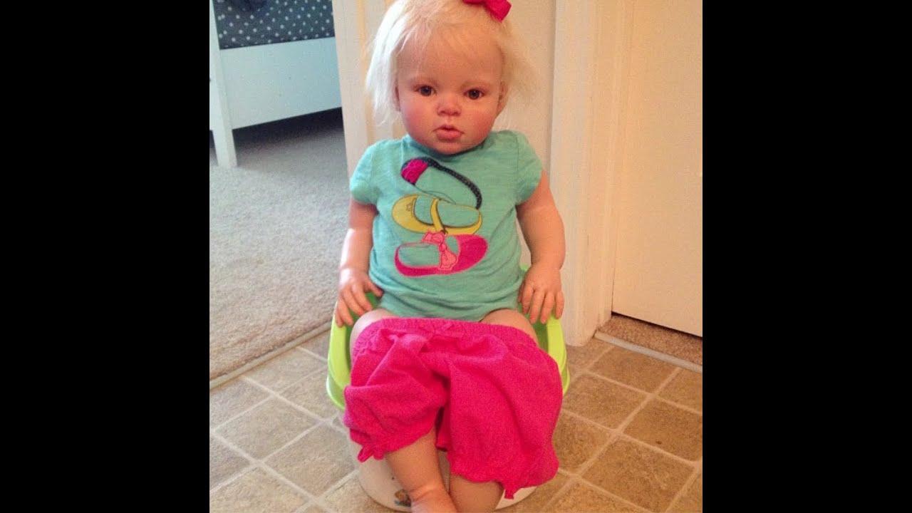 Potty Training Reborn Toddler Prim Youtube