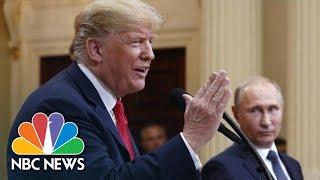 Instead Of Pressing Putin On Meddling, President Trump Calls For Clinton, DNC Servers | NBC News