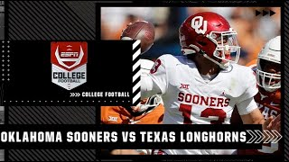 Oklahoma Sooners vs. Texas Longhorns   Full Game Highlights