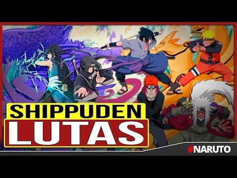 15 Melhores Lutas de Naruto Shippuden | Canal TOP 10