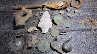 Metal Detecting Colonial Artifacts