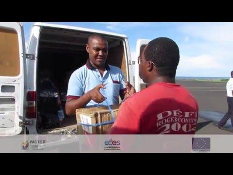 PACTE II Comores - Déploiement du matériel électoral