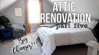 HOME RENOVATION | ATTIC MASTER BEDROOM | BIG CHANGES | PT. 5