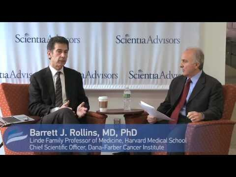 Dr. Barrett Rollins speaks with Scientia Advisors