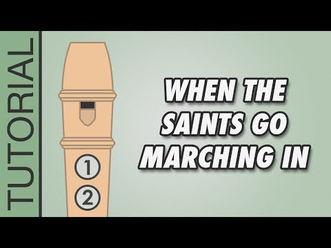 When the Saints Go Marching In - Recorder Karate